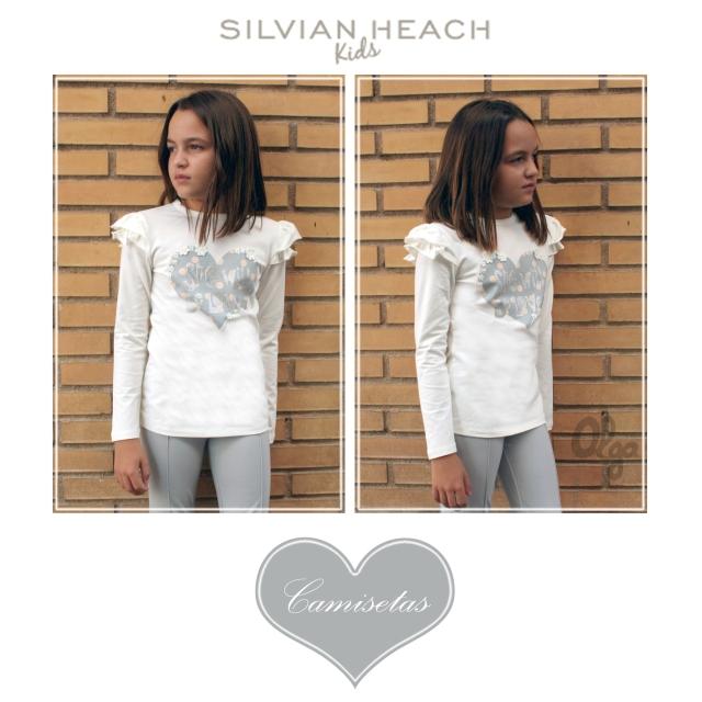 camisetas niña silvian 1